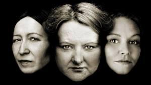 Debbie Cannon as Marjory, Angela Milton as Jenny, Belle Jones as Christian